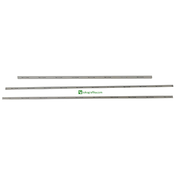 Cutting Stick Ukuran 16 x 16 x 1180 mm. Grey HDPE