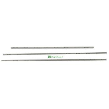 Cutting Stick Ukuran 41 x 4 x 1000 mm. Grey HDPE