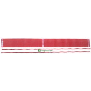 Cutting Stick Polar 137  Ukuran 10 x 4.5 x 1380 mm. Eurostick Red